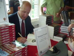 Flagel book signing at Gettysburg