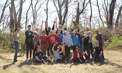 CSCC students at Fort Granger